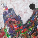 Redefinir love,  120 x 80 cm, Sand, Acryl auf Leinwand